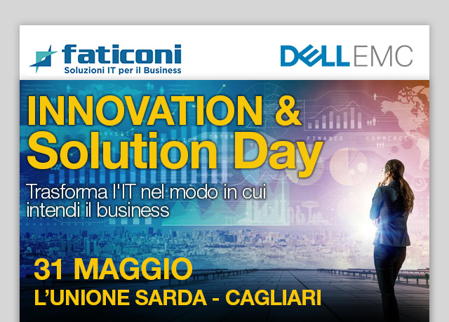 INNOVATION & SOLUTION DAY – 31 MAGGIO