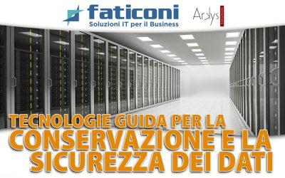 Tecnologie Guida per la conservazione e la sicurezza dei dati